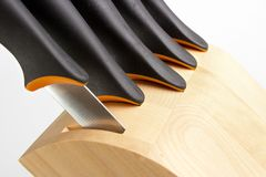 Knife block Stock Image