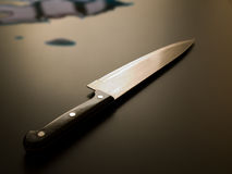 knife and blood royalty free stock photography