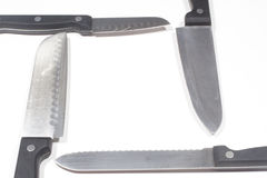 Knife Border Stock Images