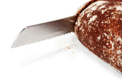 Knife for bread Royalty Free Stock Photo
