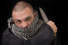 Knife Combat Stock Images