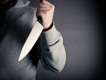 Knife crime Stock Image