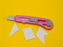 Knife cutter Stock Photography