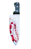 Knife with Dripping blood Royalty Free Stock Photos