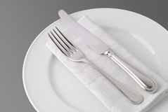Knife & Fork Stock Images