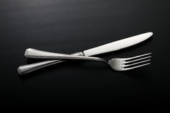 Knife and fork Stock Photography