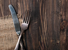 Knife and fork Stock Photos
