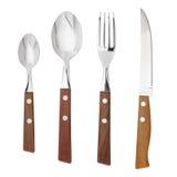 Knife, fork, spoon Royalty Free Stock Photos