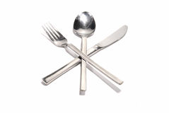Knife fork spoon Royalty Free Stock Photos