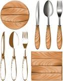Knife fork spoon tree Royalty Free Stock Photos