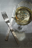 Knife and Fork Still Life Royalty Free Stock Photos