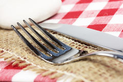 Knife and fork royalty free stock photography