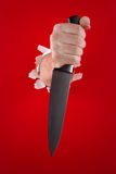 Knife in the hand Stock Image