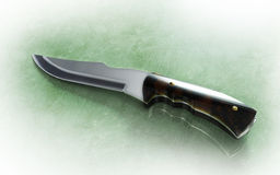 Knife for hunting Royalty Free Stock Photography