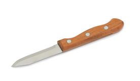 Knife, isolated. Kitchen knife, isolated on a white background royalty free stock images