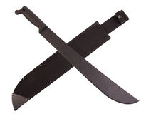 Knife machete Stock Photography