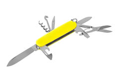 Knife multitool Stock Photo