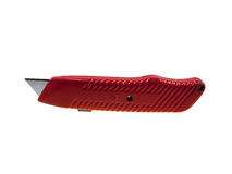 Knife for a paper of red colour Royalty Free Stock Photography
