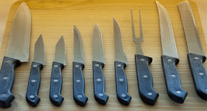 Knife Set Royalty Free Stock Photography
