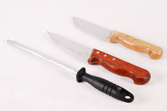 Knife set Stock Image