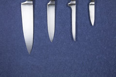 Knife silver blades Royalty Free Stock Photography
