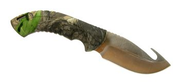 Knife survival Stock Images