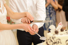 Knife for Wedding Cake Stock Photo