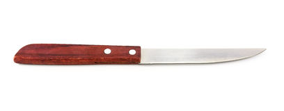 knife on white background with clipping path. Stock Images