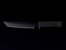 Knife With Black Blade Royalty Free Stock Image