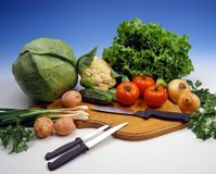 knifes кухни Стоковая Фотография