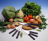 knifes кухни Стоковое Изображение