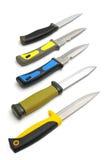 狩猎knifes 免版税图库摄影