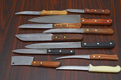 knifes Photo libre de droits