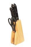Knifes da cozinha Imagem de Stock