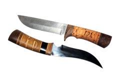 Knifes del cacciatore Immagine Stock