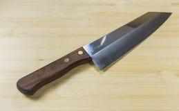 Knifes della cucina Fotografie Stock