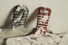 Knifes do Putty Imagem de Stock