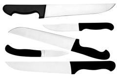 Knifes kuchenni Zdjęcia Stock