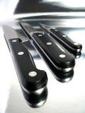 Knifes profesionales Imagen de archivo libre de regalías
