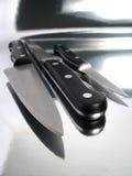 Knifes professionali Immagini Stock Libere da Diritti