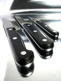 Knifes professionnels Image libre de droits