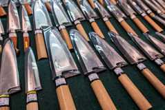 Knifes for sale in Tsukiji Fish Market, Japan Royalty Free Stock Photo