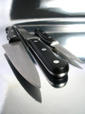 knifes zawodowych Obrazy Royalty Free