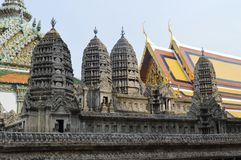 KÖNIGE PALACE EXTERIOR IN BANGKOK THAILAND Stockfotografie