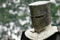 Knight. The knight during the medieval show Royalty Free Stock Photography