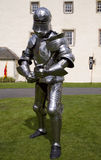 Knight. In armour, ready for battle Royalty Free Stock Photography