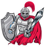 Knight. A Knight in shiny armor Royalty Free Stock Images