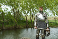 The knight Royalty Free Stock Images