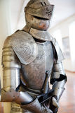 Knight armor. One natural old textured knight armor Stock Images