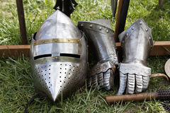 Knight armor Royalty Free Stock Images